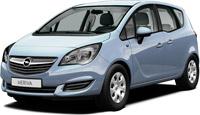 Отзывы о автомобиле Opel Meriva Minivan (2014)