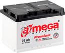 Отзывы о автомобильном аккумуляторе A-mega Premium 6СТ-74-А3 R (74 А/ч)