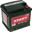 Отзывы о автомобильном аккумуляторе Extra Start R (45 А/ч)