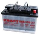 Отзывы о автомобильном аккумуляторе Kraft M 12V-74 R (74 А/ч)