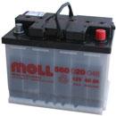Отзывы о автомобильном аккумуляторе MOLL 560 020 048 (60 А/ч)