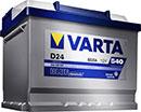 Отзывы о автомобильном аккумуляторе Varta Blue Dynamic B18 544 402 044 (44 А/ч)