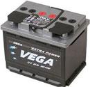 Отзывы о автомобильном аккумуляторе VEGA 1152 (66 А/ч)