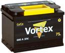Отзывы о автомобильном аккумуляторе Vortex 6СТ-75 (75 А/ч)