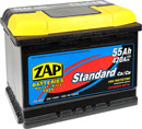 Отзывы о автомобильном аккумуляторе ZAP Standart 555 59 L (55 А/ч)