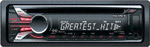 Отзывы о CD/MP3-проигрывателе Sony CDX-GT560US