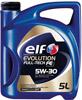 Отзывы о моторном масле Elf Evolution Full-Tech FE 5W-30 5л