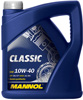 Отзывы о моторном масле Mannol CLASSIC 10W-40 4л