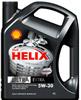 Отзывы о моторном масле Shell Helix Ultra Extra 5W-30 4л
